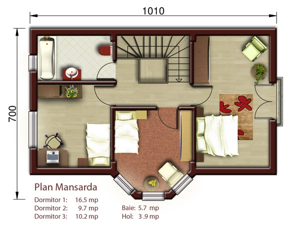 Aston casa p m proiecte case vile for Planuri de case
