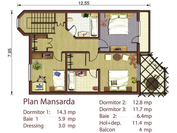 Casa hamburg p m proiecte case vile - Plan de casas ...