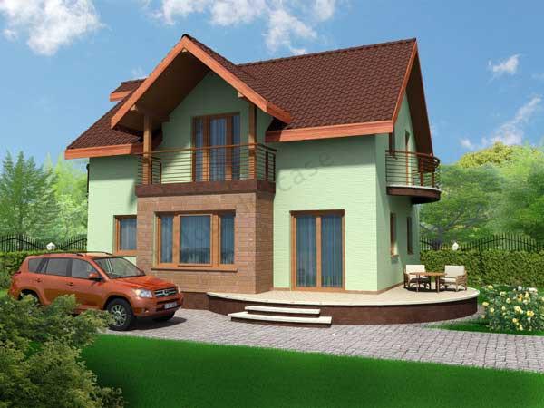 Vila mures p m proiecte case vile for Imagini case moderne