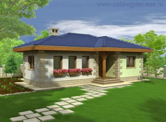 Casa parter brandusa proiecte case vile for Case parter 3 camere