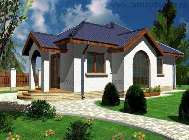 Casa parter calista proiecte case vile for Case de vis mici