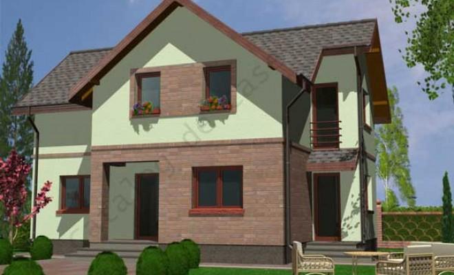 Proiecte case vile for Case cu etaj si garaj